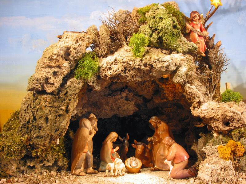 Il Messaggio Del Bambino Presepio Della Grotta