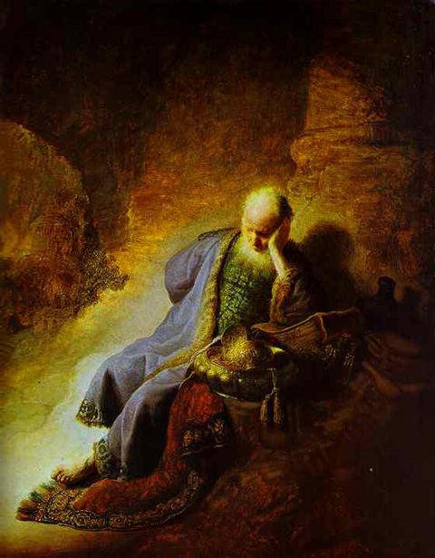Wall Nativity Scene - Rembrandt Jeremiah